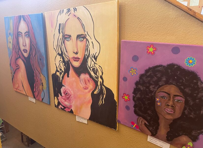 A Collection of the Beauty of Women Expressed and on Exhibition at Roadrunner Emporium, Alamogordo New Mexico