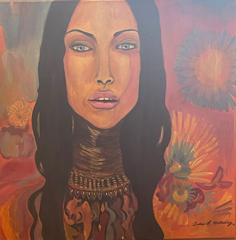 An Expression of Exquisite Color and Complexity on Exhibition Roadrunner Emporium & Art Gallery, Alamogordo New Mexico by Delia Lopez Holloway