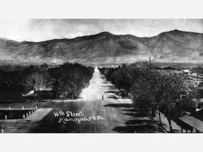 New Mexico History- The Founding of Alamogordo and the evolution of High School Athletics 1912- 1950's.