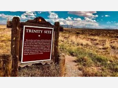 History of The Trinity Site and the Gadget, Site Open House History & Details October 2, 2021.