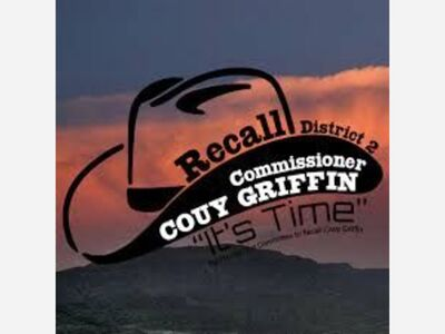 Couy Griffin Recall Campaign Update 7/27/2021, Signatures to Date: 504 total of the 1574