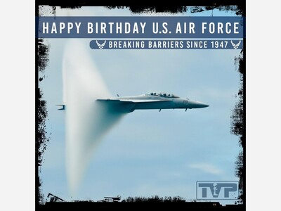 Happy Birthday Air Force and to Our Holloman Comrades