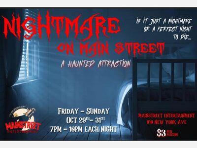 Nightmare on Main Street Event