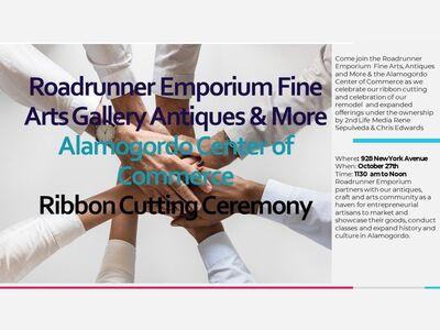 Roadrunner Emporium & Alamogordo Center of Commerce Ribbon Cutting